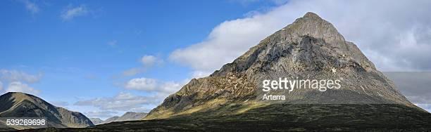 Buachaille Etive Mor at Glen Etive in Glencoe, Highlands, Scotland, UK.