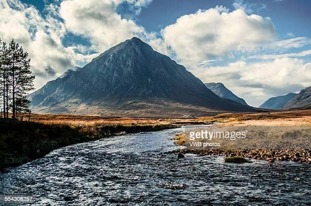 buachaille etive mor, glencoe - glen etive mor stock pictures, royalty-free photos & images