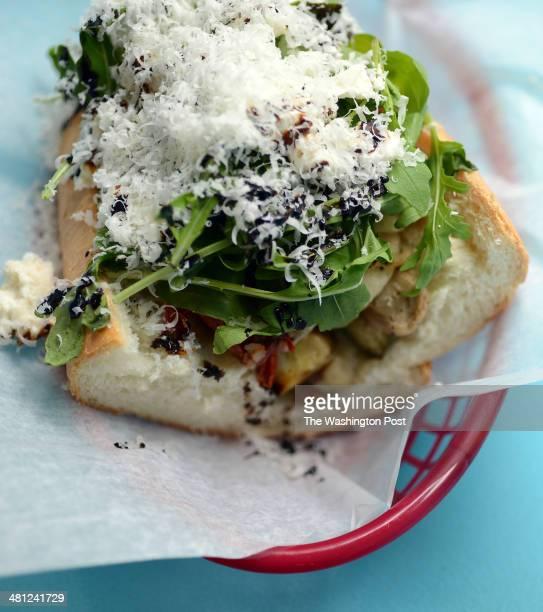 Bub and Pop's offers the Bulgarian sandwich with sheeps milk feta arugula eggplant caponata oven roasted tomatoes caramelized onion caramelized...
