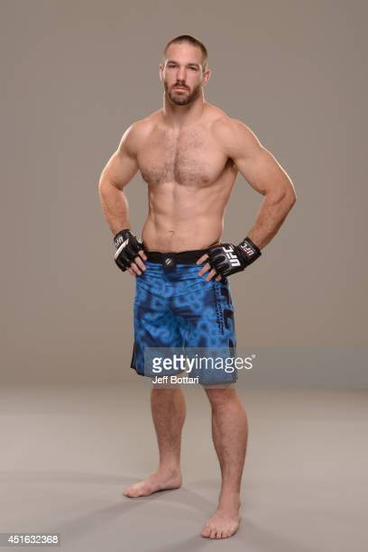 Bubba Bush poses for a portrait during a UFC photo session at the Mandalay Bay Convention Center on July 2 2014 in Las Vegas Nevada