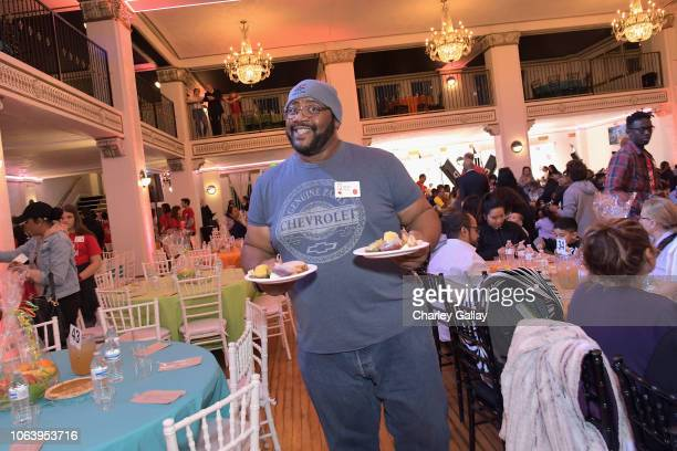 Bubba Ganter attends Salvation Army NICKELODEON Feast of Sharing on November 20 2018 in Los Angeles California