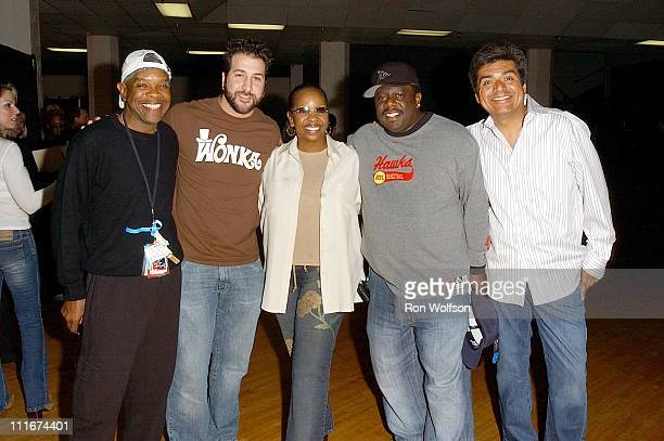 Bubba Knight Joey Fatone Gladys Knight Cedric the Entertainer and George Lopez