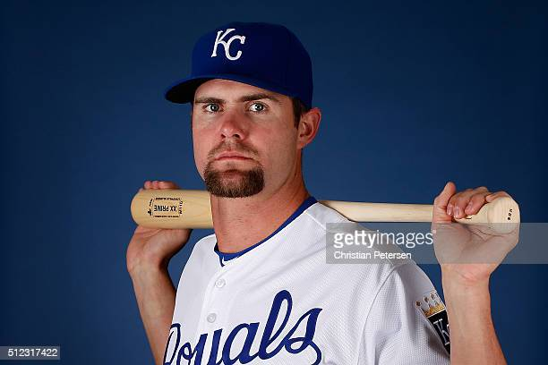 Bubba Starling of the Kansas City Royals poses for a portrait during spring training photo day at Surprise Stadium on February 25 2016 in Surprise...