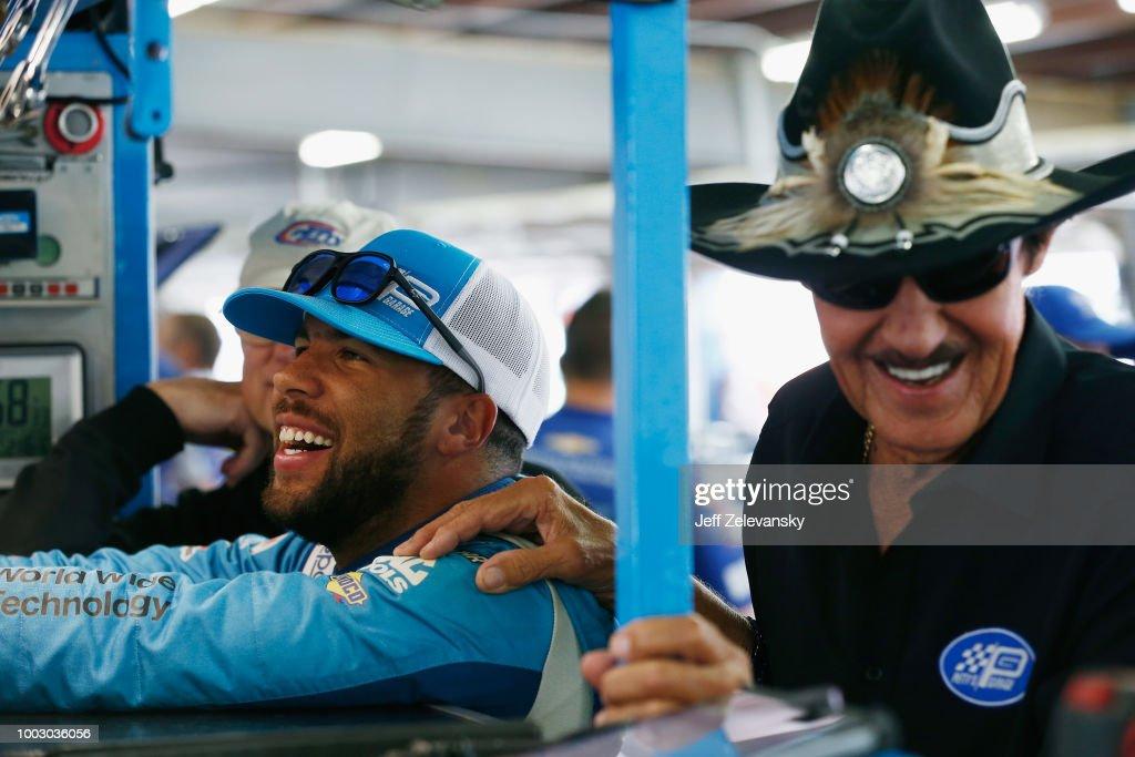 Monster Energy NASCAR Cup Series Foxwoods Resort Casino 301 - Practice : News Photo