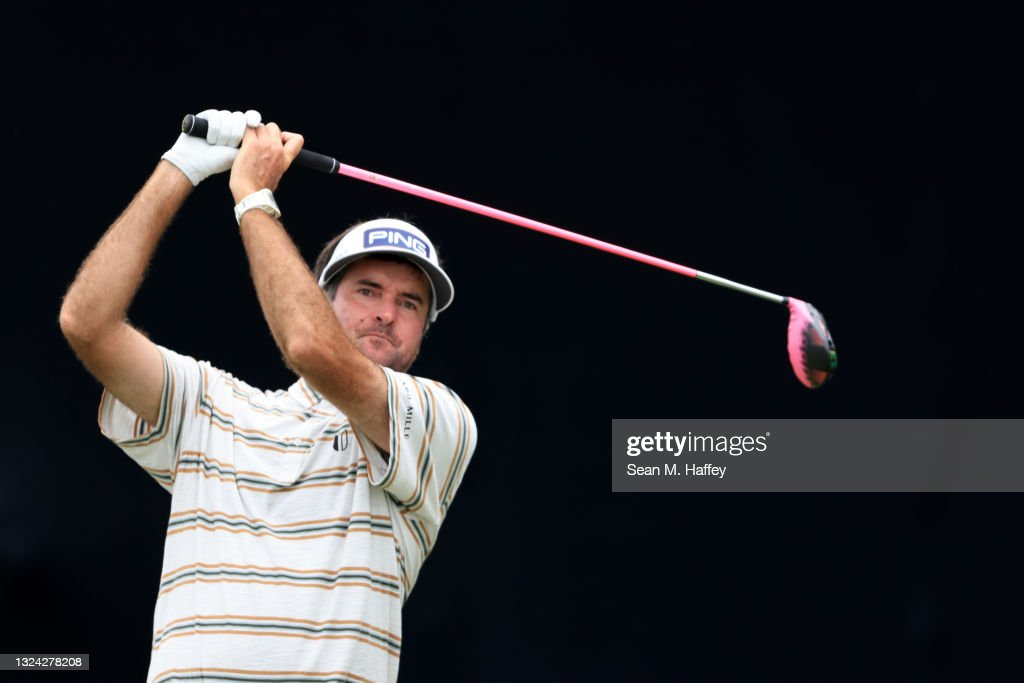 Bubba Watson at the U.S. Open - Round Two © Getty Images