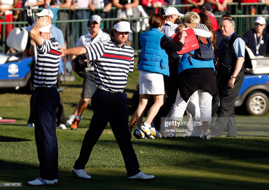 Ryder Cup - Day Three Singles : News Photo