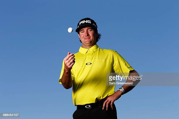 Bubba Watson of the USA poses for a portrait during a practice round ahead of THE PLAYERS Championship on The Stadium Course at TPC Sawgrass on May 6...