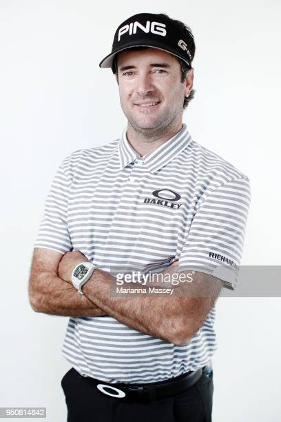 Bubba Watson poses for a portrait ahead of the Zurich Classic at TPC Louisiana on April 24 2018 in Avondale Louisiana