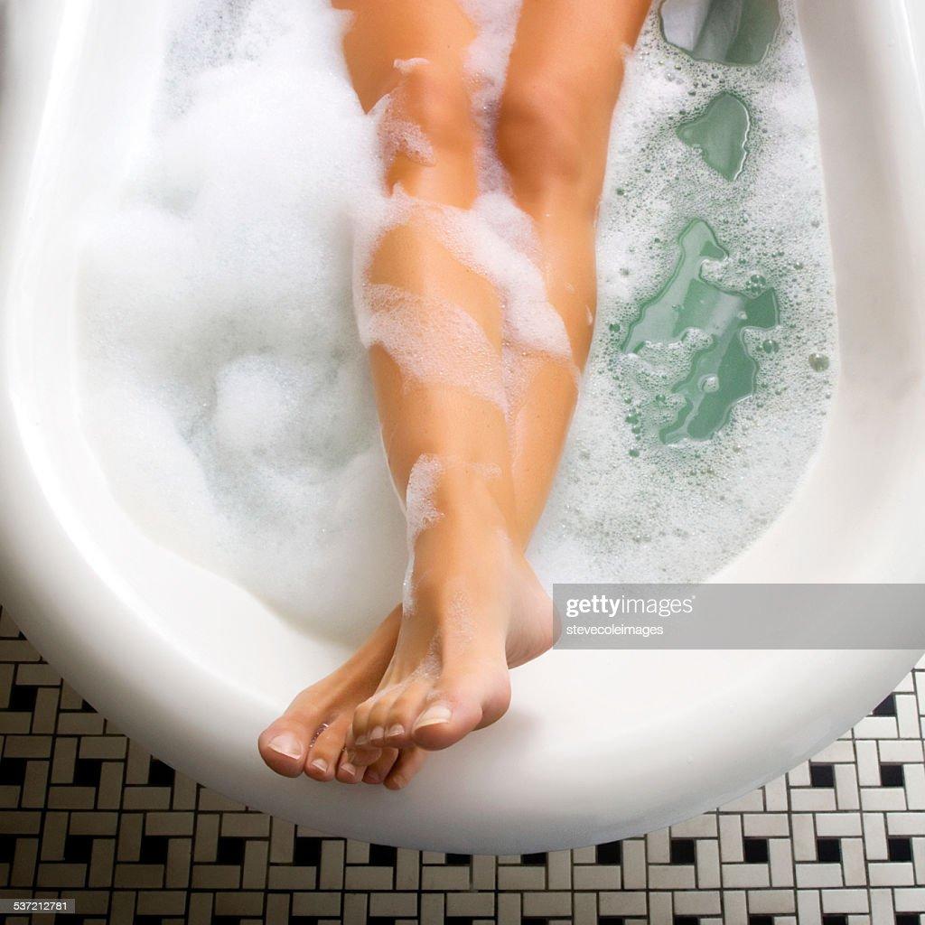 Bubble Bath : Stock Photo