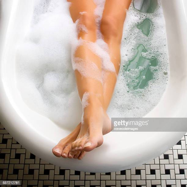 bubble bath - taking a bath stock pictures, royalty-free photos & images