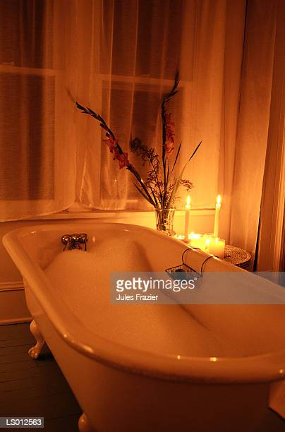 Bubble Bath with Candles