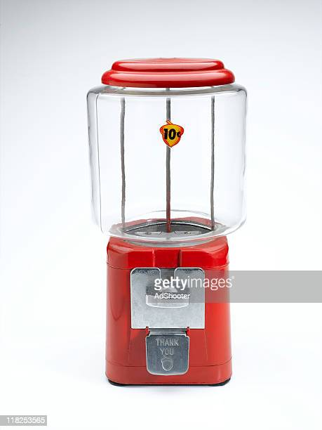 bubble gum machine - gumball machine stock pictures, royalty-free photos & images