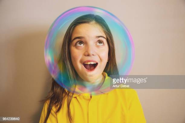 bubble kids. - image photos et images de collection