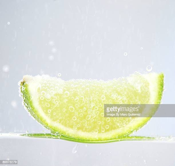 Bubble on lime