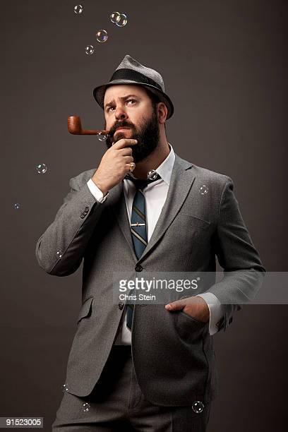Bubble pipe man