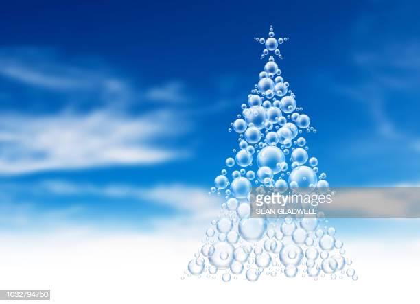 Bubble shape christmas tree