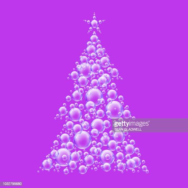 Bubble shaped christmas tree