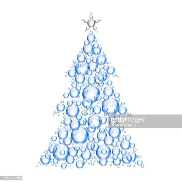 Bubble xmas tree
