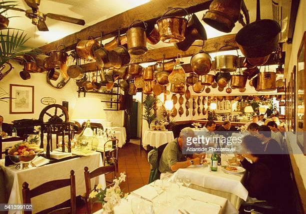 Buca di San Antonio restaurant in Lucca