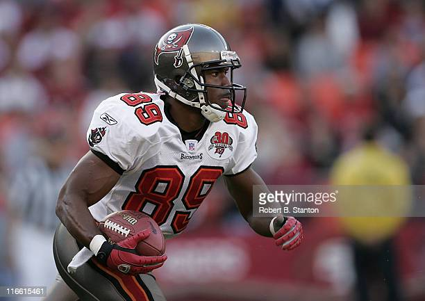 Buccaneers kick returner Mark Jones returns one late in the game as the San Francisco 49ers defeated the Tampa Bay Buccaneers by a score of 15 to 10...
