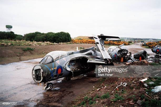 Bucc's being broken up on RAF Lossiemouth