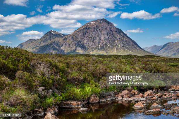 buchaille etive mor - glen etive mor stock pictures, royalty-free photos & images