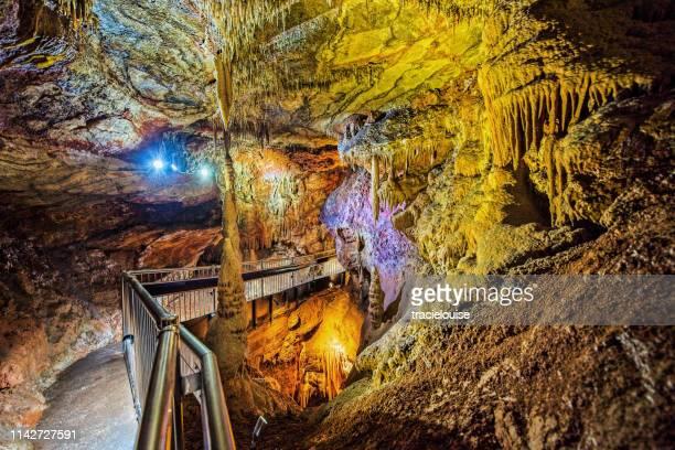 バッカン洞窟 - 方解石 ストックフォトと画像