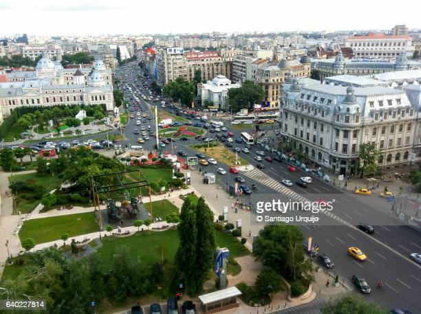 Bucharest cityscape