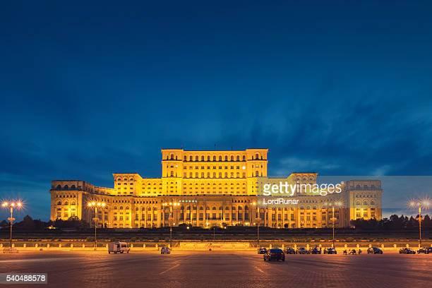bucareste edifício do parlamento - romênia - fotografias e filmes do acervo