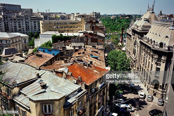 Bucharest Tin Roof Skyline