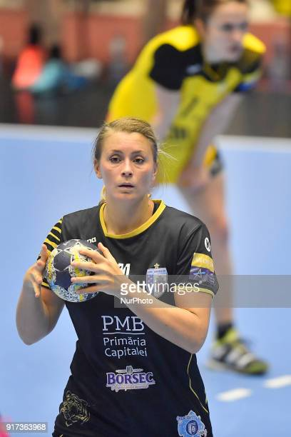 Bucharest's Isabelle Gullden during EHF Women's Champions League, Main Round, between CSM Bucuresti and Rostov Don at Polivalenta Ioan Kunst...