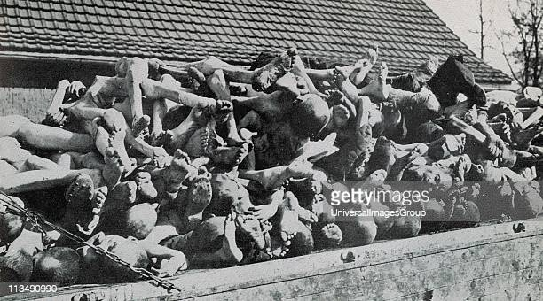 Buchenwald Nazi concentration camp established in 1937 and liberated in April 1945 Prisoners were used as forced labour in nearby munitions factories...