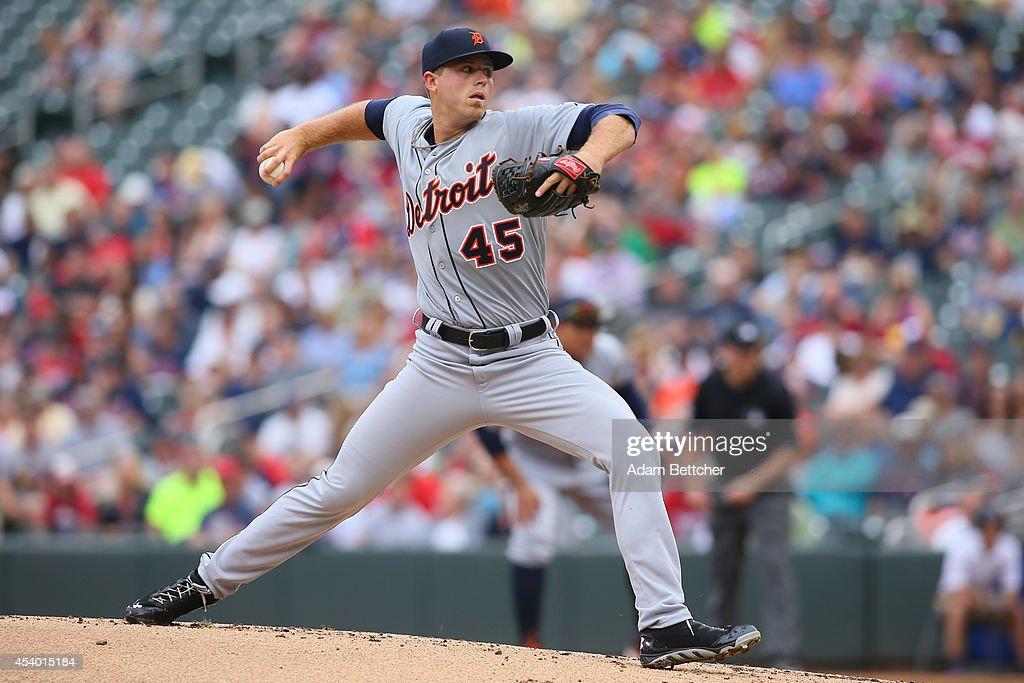 Detroit Tigers v Minnesota Twins - Game One : News Photo