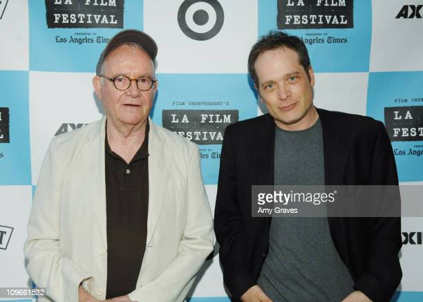 Buck Henry and Ben Svetkey of Entertainment Weekly