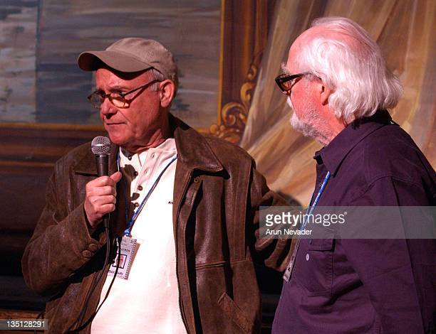 Buck Henry and Henning Carlsen during 31st Telluride Film Festival Buck Henry Introduces Hunger by Henning Carlsen