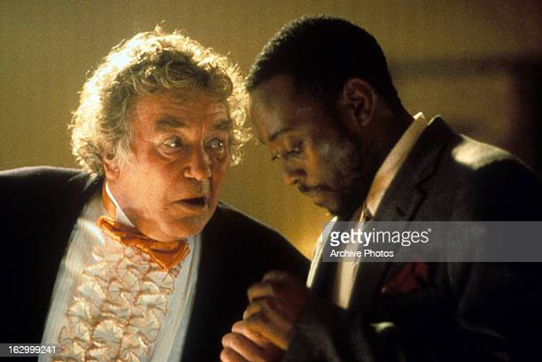 Buck Henry and Omar Epps in a scene from the film 'Breakfast of Champions' 1999
