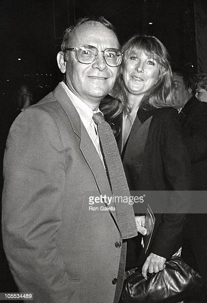 Buck Henry and Teri Garr during Filmex Opening at Avco Center Cinema in Westwood California United States