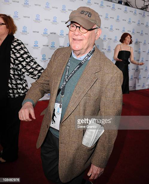 Buck Henry arrives at the opening night gala and premiere of the newly restored A Star Is Born at Grauman's Chinese Theatre on April 22 2010 in...