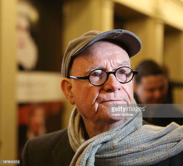 Buck Henry attend the Broadway opening night production of Twelfth Night at Belasco Theatre on November 10 2013 in New York City
