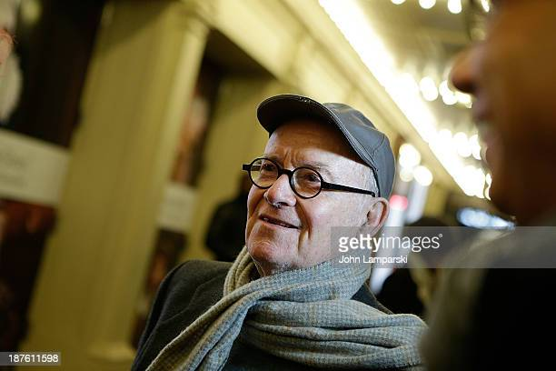 Buck Henry attends the Broadway opening night production of Twelfth Night Richard III at Belasco Theatre on November 10 2013 in New York City
