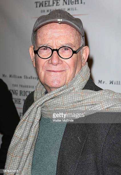 Buck Henry attends the Broadway opening night production of Twelfth Night at Belasco Theatre on November 10 2013 in New York City