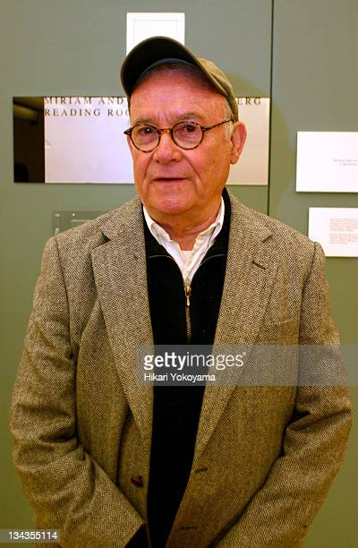 Buck Henry during Reception for Photo Exhibition In Character Actors Acting by Howard Schatz at New York Public Library for the Performing Arts in...