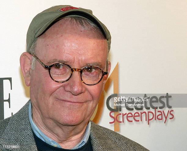 Buck Henry during Writer's Guild of America 101 Greatest Screenplays Arrivals at WGA Theater in Beverly Hills California United States