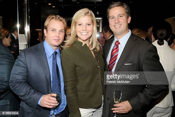 Buck Jensen Amanda Novak and Ted Smith attend CASITA MARIA FIESTA Kickoff Party Hosted by Fred Leighton at Fred Leighton on October 7 2008 in New...
