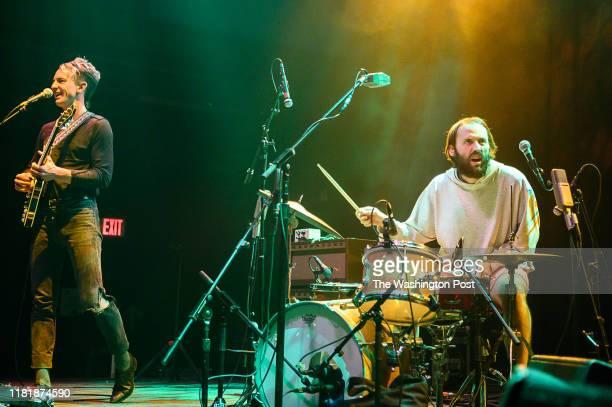 Buck Meek James Krivchenia of Big Thief perform at the 930 Club on Sunday