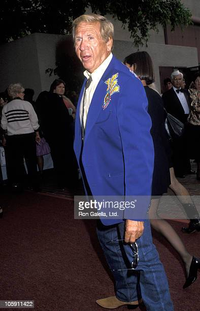 Buck Owens during 27th Annual Academy of Country Music Awards at Shrine Auditorium in Los Angeles, California, United States.