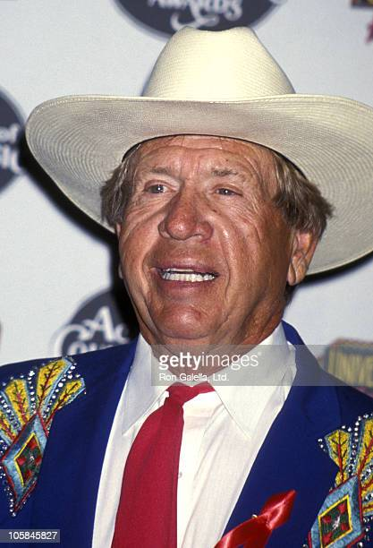 Buck Owens during 29th Annual Academy of Country Music Awards at Universal Amphitheatre in Universal City, California, United States.