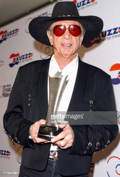 Buck Owens during 40th Annual Academy of Country Music Awards - Buck Owens Announces Legends in Bronze Unveiling at Mandalay Bay Resort and Casino...