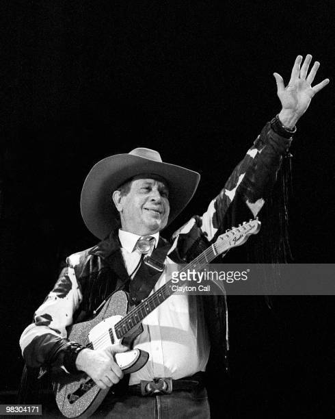Buck Owens performing at the BAMMIES at the San Francisco Civic Auditorium on February 25 1989