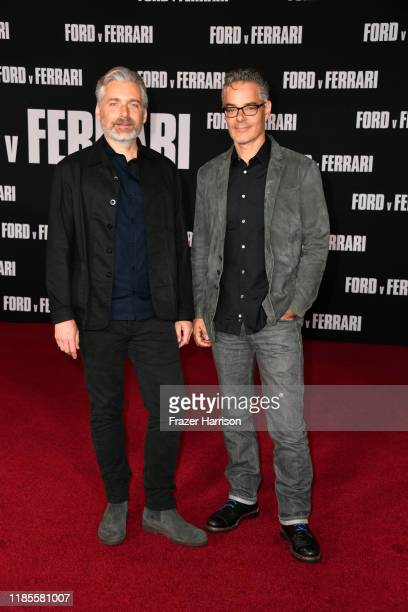 Buck Sanders and Marco Beltrami attends Premiere Of FOX's Ford V Ferrari at TCL Chinese Theatre on November 04 2019 in Hollywood California